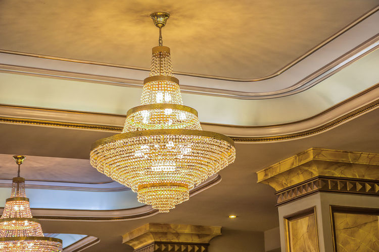 Almaty Almaty City Almaty Theater Abay Almaty, Kazakhstan AlmatyMyFirstLove Architecture Built Structure Ceiling Day Elégance Hanging Illuminated Indoors  Lighting Equipment Low Angle View Luxury No People Ornate Theater