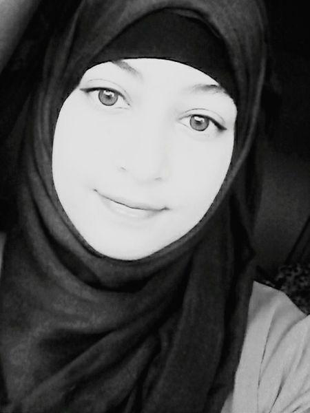 That's Me Blackandwhite Hijabstyle  Girl Muslimah