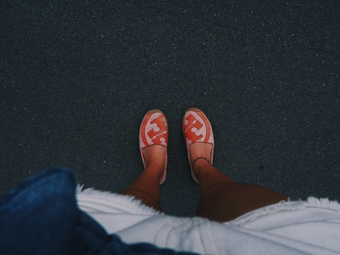 Casual day Shoe Pink Denim