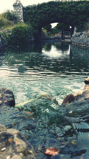 Waterfall Waterfalls St Anne's Lythamstannes England Uk