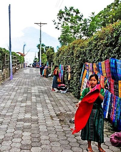 Guatemala y sus colores Built Structure Fashion Architectural Design Building Exterior Guatemala City Agriculture Tenisnovo Indoors  Ready-to-eat EyeEmNewHere Lifestyles Greenhouse Teniscourt Outdoors Celebration Adult People Adults Only Tree Only Women Day Sky Charity And Relief Work