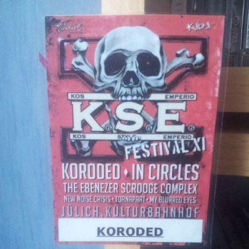 Koroded J ülich Juelich Metal music musik festival artist band kulturbahnhof kuba kos style emperio artistpass