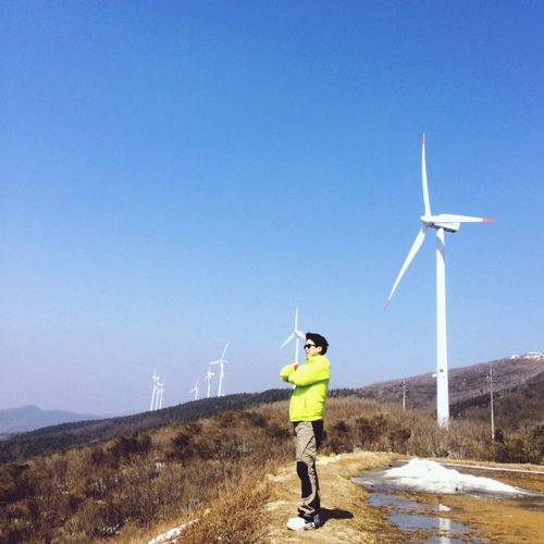 태기산풍력발전기6번