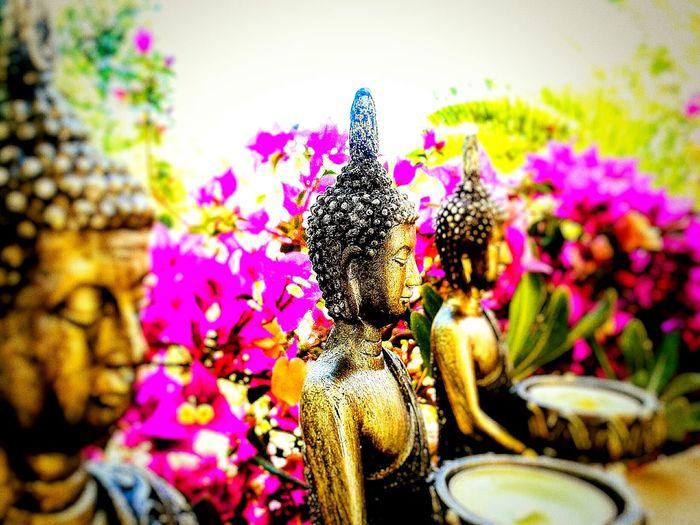 Buddha Inspired Candleholder/Candleholders.