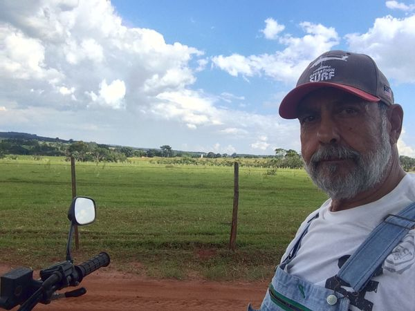 AVARE SAO PAULO BRAZIL Agriculture Alone Carefree Cloud Day Escapism EyeEm Team Farm Farm Field Getting Away From It All Grass Grassy Green Color Hobbies Horizon Over Land Landscape Outdoors Perspective Rural Scene Sky Tranquil Scene Tranquility