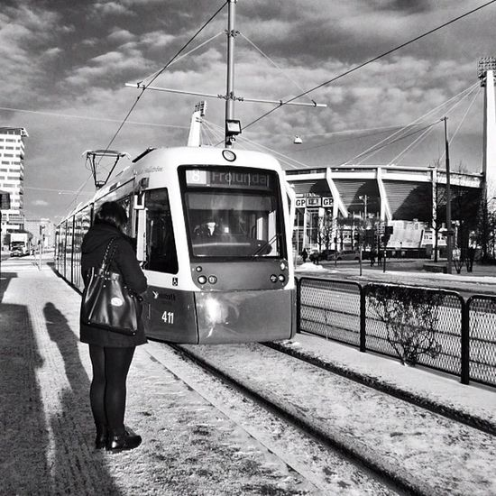 The human ice-lolly gave up after about 20 seconds in the sub-zero cold. Gothenburg Monochrome Waiting Bw Streetphotography Sweden People Goteborg Candid Perspective Blackandwhite Gente Portrait Bnw Shadow Vanishingpoint Snow Nieve Streetphoto Bn Figure Snö  White Sverige Tram Ig_sweden Esperando Igersgothenburg Woman Tramstop