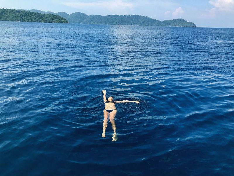 Sea Surin Islands Dive My World 🌍 Thailand