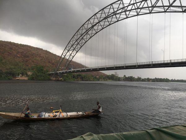 Bridge in Volta region Ghana