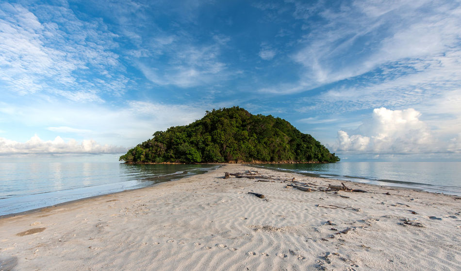 Parthway to the island Sea Nature Tree Beach Blue Water Landscape Postcard No People Scenics Sky Outdoors Tropical Climate Sand Beauty In Nature Horizon Over Water Day Tree Dog Mammal Sunlight Fresh on Market 2016 Beauty In Nature Tranquil Scene Nature