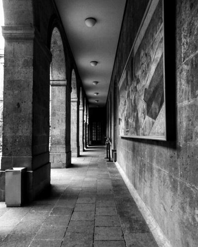 Corridor Indoors  Architecture Built Structure No People Day