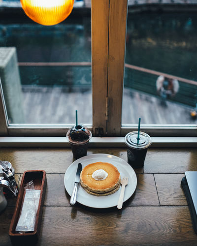 Lunch Food And Drink Table Freshness Food Drink No People Indoors  Kitchen Utensil Still Life Refreshment Window Coffee Wood - Material Household Equipment Day Cup High Angle View Coffee Cup Restaurant Mug Tray Breakfast Temptation It's About The Journey