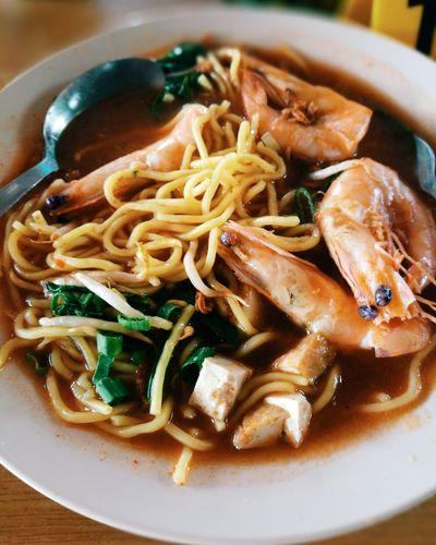 Mee udang Malaysian Food Mee Udang Pulaupinang Penangfood Noodles Seafood