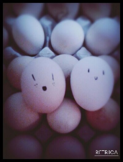 Eggs remind me of my bff ...we are so different My Bff <3 weirdos