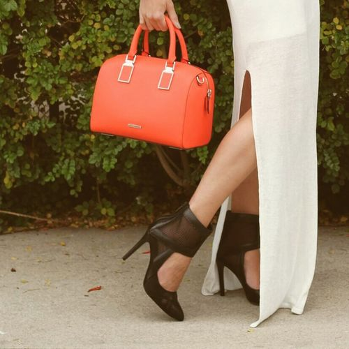 Pop of color. Check This Out That's Me Fashion Fashionphotography Handbag  Pop Of Color