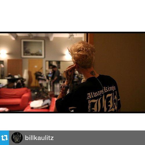 Repost @billkaulitz ・・・ NEW Tokiohoteltv EPISODE!!!!! Check out Wherethemagichappens 5pm cet on tokiohotel.com @tokiohotel @erikbergamini