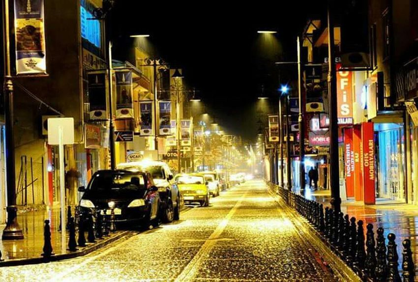 Building Exterior Architecture City Car Transportation Built Structure Street Illuminated Land Vehicle Mode Of Transport Night City Street Road City Life Traffic Auto Post Production Filter Incidental People Travel Travel Destinations The Way Forward