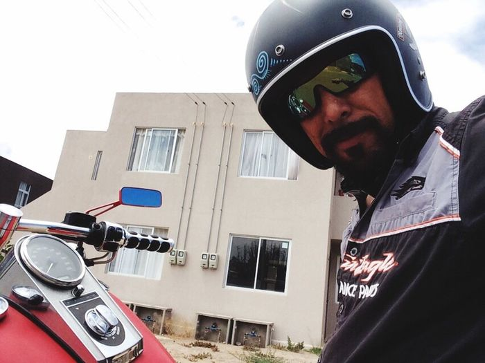 Motorcycles Self Portrait That's Me Enjoying Life My Hobby