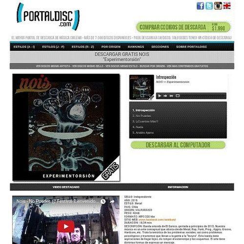 Recuerden que pueden descargar nuestro EP de forma Gratuita por PortalDisc www.portaldisc.com/gratis.php?id=12672 Experimentorsion Ep Nois Band Instachile Instamusic Banda Emergente Elquisco Metal