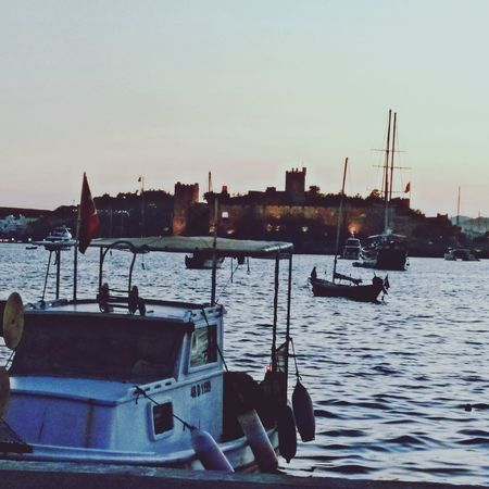 Bodrum Bodrum Kalesi Bodrum Castle Bodrumbodrum Bodrumturkey Bodrum Sea Bodrum Beach Holiday Holiday Trip Boats⛵️ Water Sailboat Sea Harbor Nautical Vessel Moored Transportation Mode Of Transport Sunset No People Outdoors Tranquility Commercial Dock Travel Destinations Sky First Eyeem Photo