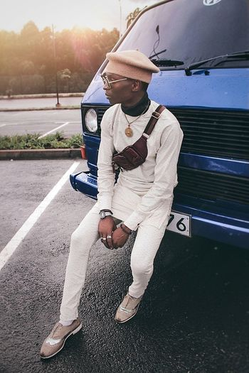 Africa Photography VisualArt  Fashion Freedomthinkers EyeEm Casualstyle EyeEm Best Shots Portrait Streetphotography Sportsman Men Full Length Standing Young Men Beard Golfer Sky