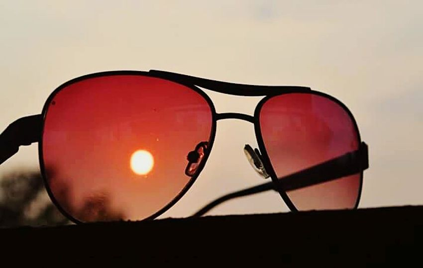 Hiiiii ✌ HelloEyeEm Taking Photos Check This Out Glasses👌 Sunset_collection Amazing_captures Amazing View BestEyeemShots Best Eyeem Edits Sunset View