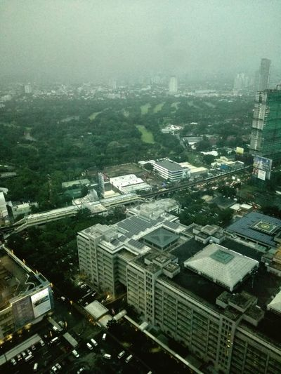 High Angle View Weather No People Fog Nature Landscape Taking Photos Mandaluyong City