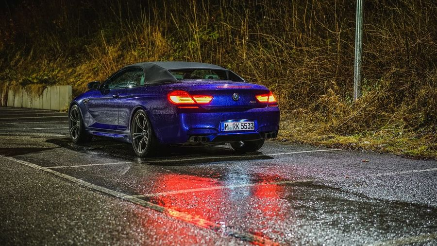 Bmw BMW M6 Car Cars Carporn Speed Race Tegernsee Night Nightphotography Night Lights Night Photography Night View Sony Alpha A7R II