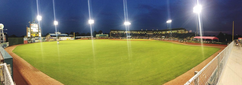 Night Sport Baseball Team Lexington Playing Field
