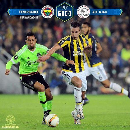 Goooaaalll! Fenerinmacivar Fenerbahçe SK Fenerbahçeyıkılmaz Fenerbahce  Ajax Amsterdam Ajax Arena Ajax OpenEdit UEFA