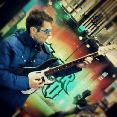 Rock Mohican Guitar Music thessaloniki salonika monitor macedonia greece instalovers instagood photo public tsimiski wii star rockstar good