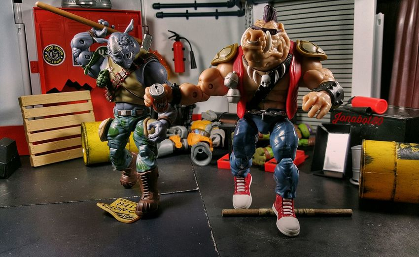 Bebop: We are done here. Toyworldordercliq Tmnt Bebop Rocksteady Figlife
