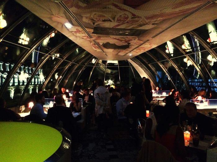 Frenchie Populace Parisienne Weekend Saturdaynight Restaurant Chic Class Parismycity Landscapelovers First Eyeem Photo