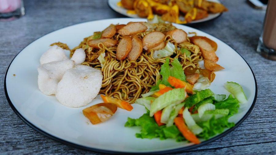 Noodle Sosis Indonesian Food Yummy Food