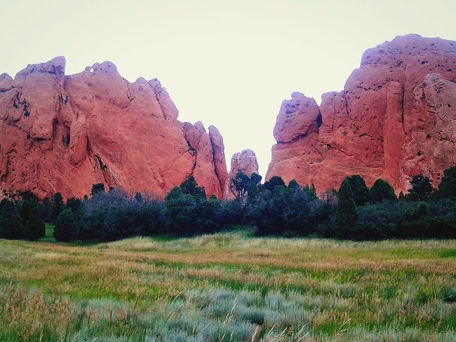 Miles Away colorado Landscape Nature Beauty In Nature Tree Outdoors No People Day Enjoying Life Nature Taking Photos Tranquility Beauty In Nature Finding New Frontiers In Nature- Designed By Nature Garden Of Gods