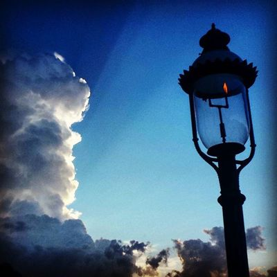 So much sky, and no sky is ever the same. Itsabeautifulevening Clouds Lantern