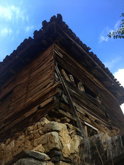 Ancient Civilization EyeEm Selects Low Angle View Wood - Material Sky Architecture Building Exterior Built Structure Day Outdoors No People Mountain Nature Been There. EyeEmNewHere The Week On EyeEm