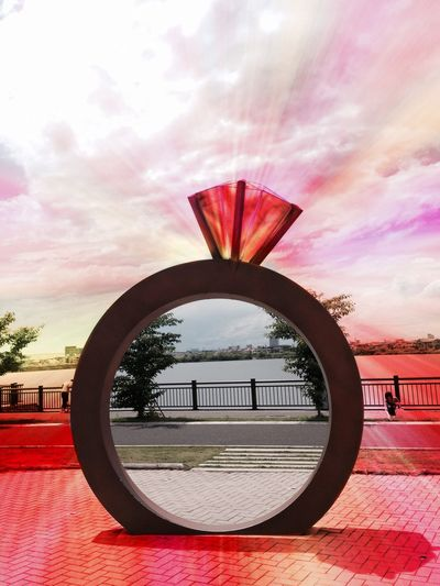 The RING . 💍 Discover Your City Travel Unique Tadaa Community Surrealism Digital Art Check This Out Sculpture Traveling Colorful
