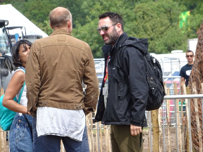 BBC Radio 6 Casual Clothing Festival Season Glastonbury 2014 Group Of 3 Lifestyles Outdoors Shaun W Keaveny Music Brings Us Together