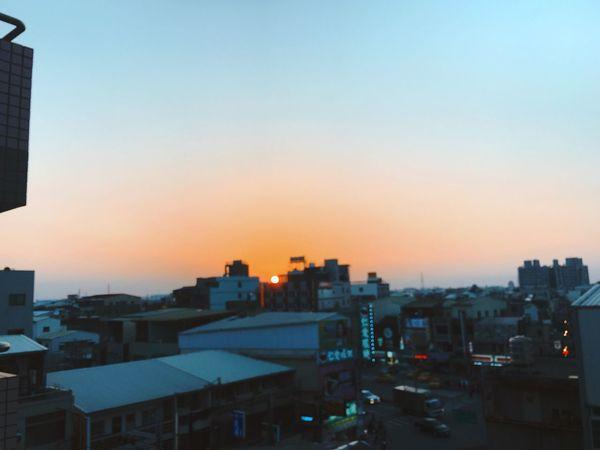 台南 台灣 夕陽 日落 霞 Taiwan Tainan Sunset