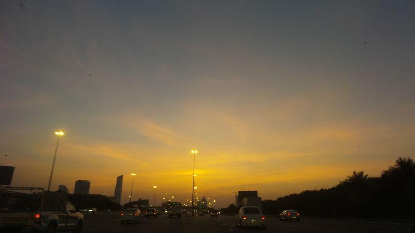 The Journey Is The Destination Homebound Dubai Sky Summer Sunset