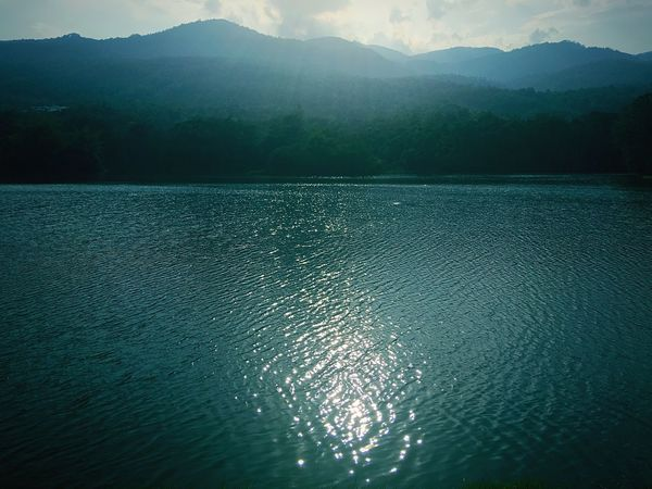 Mountain Beauty In Nature Nature Scenics Tranquil Scene Water Tranquility Lake Outdoors Reflection No People Tree Day Mountain Range Landscape Sky